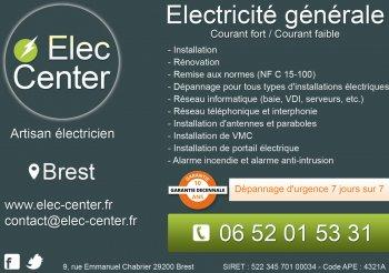 Artisan électricien sur Brest